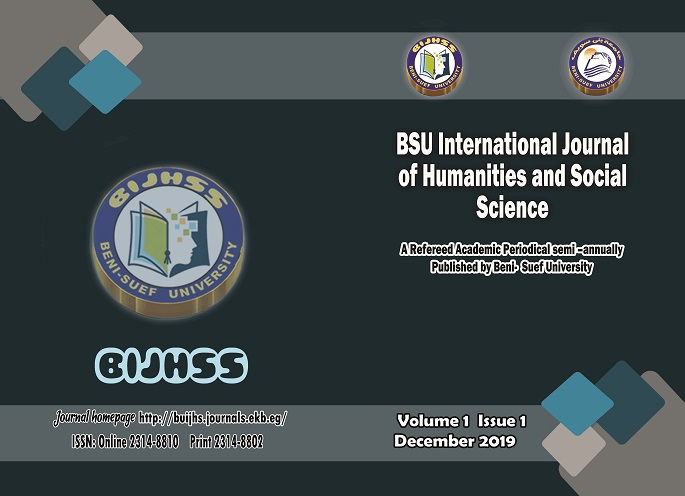 Beni-Suef University International Journal of Humanities and Social Sciences